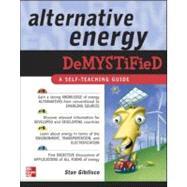 Alternative Energy Demystified by Gibilisco, Stan, 9780071475549