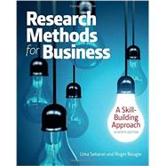 Research Methods For Business: A Skill Building Approach by Sekaran, Uma; Bougie, Roger J., 9781119165552