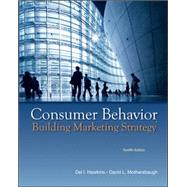 MP Consumer Behavior with DDB Data Disk by Hawkins, Delbert; Mothersbaugh, David, 9780077645557