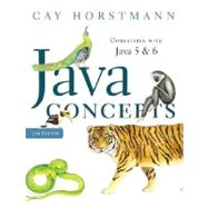 Java Concepts : Compatible with Java 5 and 6 at Biggerbooks.com
