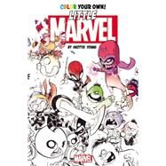 Color Your Own Young Marvel by Skottie Young by Young, Skottie, 9780785195559