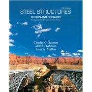 Steel Structures Design and Behavior by Salmon, Charles G.; Johnson, John E.; Malhas, Faris A., 9780131885561