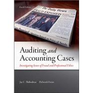 Auditing and Accounting Cases: Investigating Issues of Fraud and Professional Ethics by Thibodeau, Jay; Freier, Deborah, 9780078025563