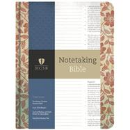 HCSB Notetaking Bible, Red Floral by Holman Bible Staff, 9781433645563