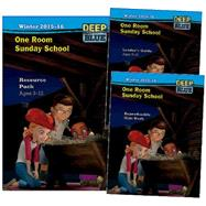 One Room Sunday School Deep Blue Winter 2015-16 Quarterly Kit by Abingdon Press, 9781630885564