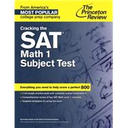 Cracking the SAT Math 1 Subject Test by PRINCETON REVIEW, 9780804125581