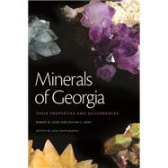 Minerals of Georgia by Cook, Robert B.; Gray, Julian C.; Santamaria, Jose, 9780820345581