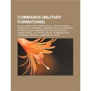 Commands (Military Formations) by , 9781157305583