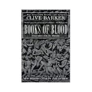 Clive Barker's Books of Blood 1-3 9780425165584U