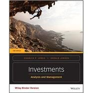 Investments by Jones, Charles P.; Jensen, 9781118975589