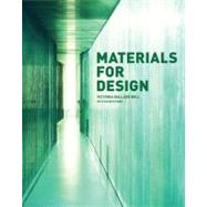 Materials for Design by Bell, Victoria Ballard, 9781568985589