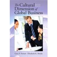 The Cultural Dimension of Global Business by Ferraro; Gary, 9780205835591