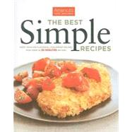 The Best Simple Recipes by AMERICA'S TEST KITCHEN, 9781933615592