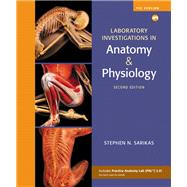 Laboratory Investigations in Anatomy & Physiology, Pig Version (Manual) by Sarikas, Stephen N., 9780321575593