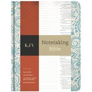 KJV Notetaking Bible, Blue Floral by Holman Bible Staff, 9781433645594