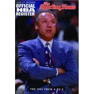 Official NBA Register, 1996-97 : Complete Information about NBA Players, Past and Present by Sporting News, 9780892045600