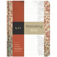 KJV Notetaking Bible, Red Floral by Holman Bible Staff, 9781433645600
