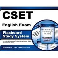 CSET English Exam Flashcard Study System : CSET Test Practice Questions and Review for the California Subject Examinations for Teachers by Cset Exam Secrets, 9781609715601