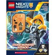 Stone Monsters Attack! (LEGO NEXO KNIGHTS: Activity Book with Minifigure) by Unknown, 9781338055603