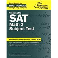 Cracking the SAT Math 2 Subject Test by PRINCETON REVIEW, 9780804125604