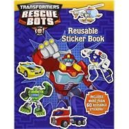 Transformers Rescue Bots: Reusable Sticker Book by King, Trey, 9780316405607