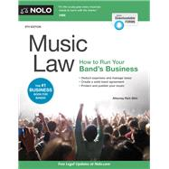 Music Law by Stim, Richard, 9781413325607