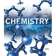 Modified Mastering Chemistry with Pearson eText -- Standalone Access Card -- for Chemistry Structure and Properties by Tro, Nivaldo J., 9780134565613