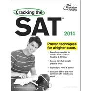 Cracking the SAT with 5 Practice Tests, 2014 Edition by PRINCETON REVIEW, 9780307945617