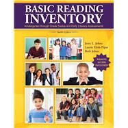 Basic Reading Inventory: Pre-Primer through Grade Twelve and Early Literacy Assessments by Jerry Johns, Laurie Elish-Piper, 9781524905620