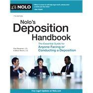 Nolo's Deposition Handbook by Bergman, Paul; Moore, Albert, 9781413325621