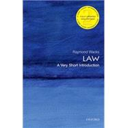 Law: A Very Short Introduction by Wacks, Raymond, 9780198745624