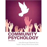 Community Psychology by Moritsugu; John, 9780205255627