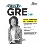 Cracking the GRE with 4 Practice Tests, 2014 Edition by PRINCETON REVIEW, 9780307945631