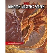 D&d Dungeon Master's Screen by Wizards Rpg, 9780786965632