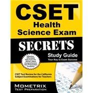 Cset Health Science Exam Secrets Study Guide by Cset Exam Secrets, 9781609715632