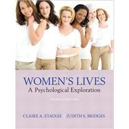 Women's Lives: A Psychological Exploration by Etaugh; Claire, 9780205255634