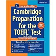 Cambridge Preparation for the TOEFL Test by Gear, Jolene; Gear, Robert, 9781107685635