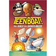 Teen Boat! The Race for Boatlantis by Roman, Dave; Green, John, 9780547865638
