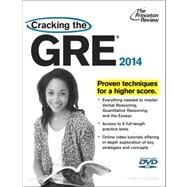 Cracking the GRE with 6 Practice Tests & DVD, 2014 Edition by PRINCETON REVIEW, 9780307945648
