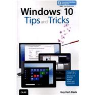 Windows 10 Tips and Tricks (includes Content Update Program) by Hart-Davis, Guy, 9780789755650