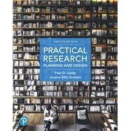 Practical Research Planning and Design by Leedy, Paul D.; Ormrod, Jeanne Ellis, 9780134775654