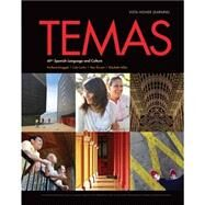 Temas Student Edition, vText w/ Supersite Code 2014 by Vista Higher Learning, 9781618575654