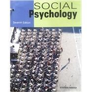 Social Psychology by Franzoi, Stephen, 9781627515658