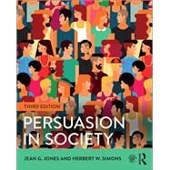 Persuasion in Society by Jones; Jean, 9781138825659