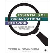 Essentials of Organizational Behavior by Scandura, Terri A., 9781483345659