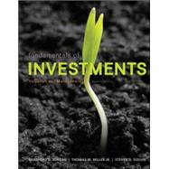 MP Fundamentals of Investments with Stock-Trak card by Jordan, Bradford; Miller, Thomas; Dolvin, Steve, 9780078115660