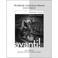 WORKBOOK/LABORATORY MANUAL FOR AVANTI by Aski, Janice; Musumeci, Diane; Onorato Wysokinski, Carla, 9780077595661