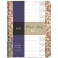 NKJV Notetaking Bible, Red Floral by Holman Bible Staff, 9781433645662