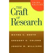 The Craft of Research by Booth, Wayne C., 9780226065663