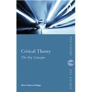 Critical Theory: The Key Concepts by Felluga; Dino Franco, 9780415695664